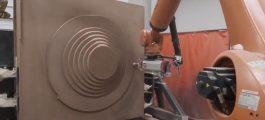 Robotická výroba formy bez modelového zařízení